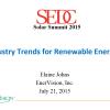 Industry Trends for Renewable Energies