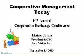Cooperative Management Today