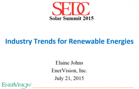 Industry Trends for Renewable Energies