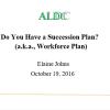 ALDC – Succession Planning