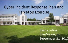 Cyber Incident Response Plan and Table Top Exercise
