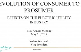 Evolution of  Consumer to Prosumer : Effects on the Electric Utility Industry