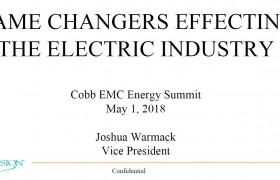 Game Changers Effecting The Electric Utility Industry