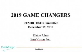 EVI Game Changers 2019 for REMDC