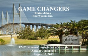 EVI Game Changers 2019 GEMC Directors Meeting