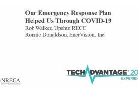 "2021 NRECA TechAdvantage Presentation: ""Our Emergency Response Plan Helped Us Through COVID-19"""